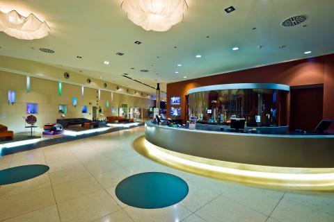 Receptie Design hotel Cagliari