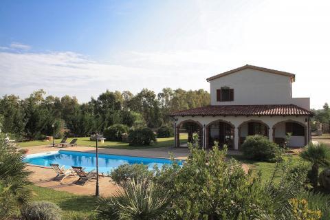 Verzorgd vakantiehuis nabij Alghero - Sardinie