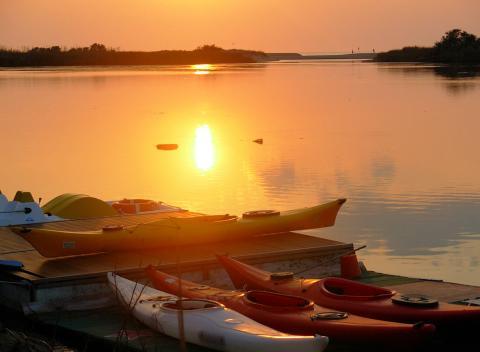 Watersport Sardinië: must excursie: kano/cayak
