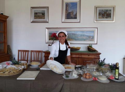 Kookcursus in het hotel