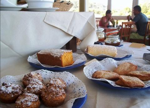 Ontbijt hotel Sardinië - rondreis