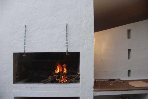 BBQ bij het terras