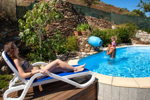 Sardinië en ontspannen in het zwembad