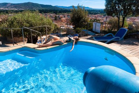 Vakantie Sardinië - zwembad Residenza Sarrabus