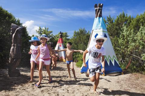 vakantie met kinderen half pension sardinië