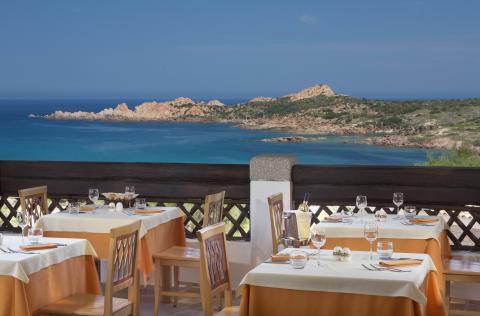 strandvakantie met prachtig uitzicht Sardinië