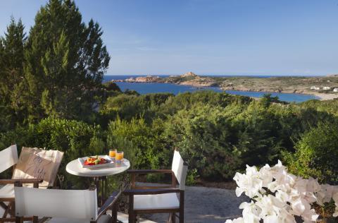 Luxe vakantie aan het strand Sardinië