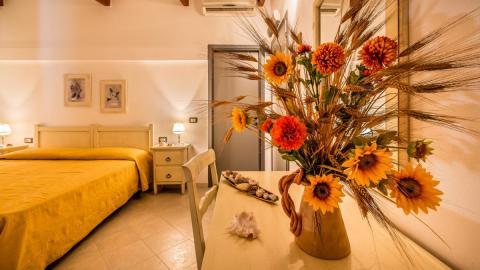 Slaapkamer - Hotel Seta - Sardinië.
