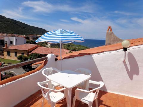 Vakantiehuis Sardinië met zeezicht