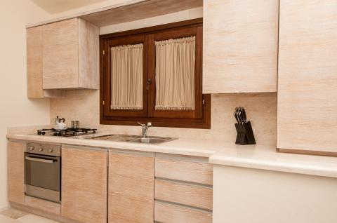 Volledig ingerichte keuken Villa Collina