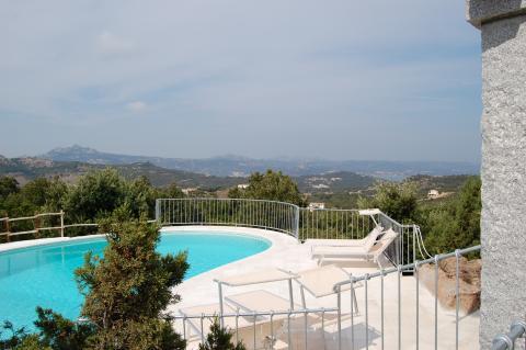 Zwembad Villa Monti di Mola, Sardinië