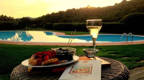 Kleinschalig hotel Sardinie met zwembad