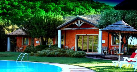 Kleinschalig hotel met zwembad Costa Smeralda