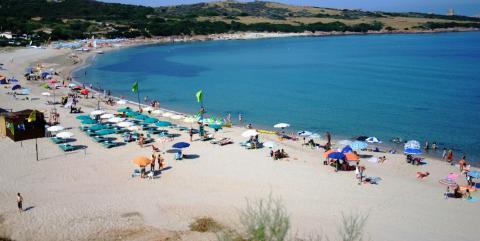 Het strand van La Marinedda