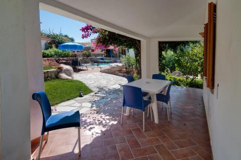 Vakantiewoning met airco en zwembad Sardinië