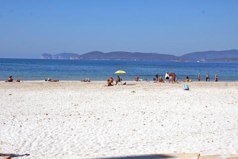 Vakantiewoningen nabij strand Alghero - Sardinie