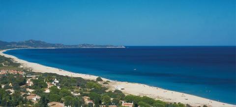 Vakantiehuis nabij witte zandstranden Sardinie