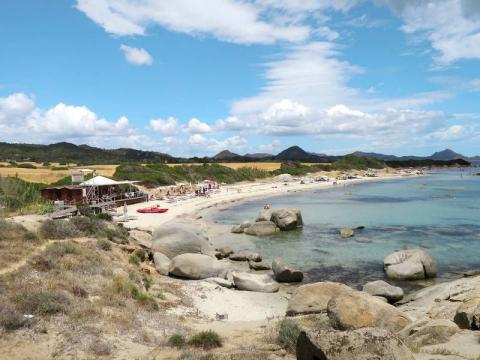 Prachtige zandstranden zuidoost Sardinië