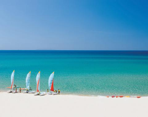 Resort Sardinië loopafstand van het strand