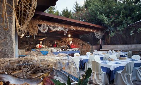 Restaurant Scorfano Hotel I Ginepri Sardinië