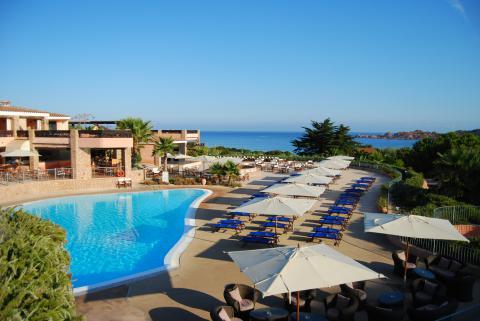 Hotel Marinedda in Isola Rossa Sardinië