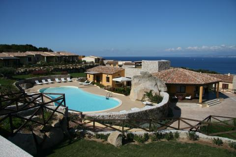 Vakantieresort Sardinie met strand