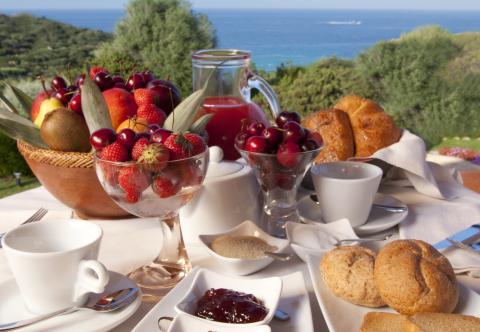 Vakantiewoningen met zwembad Sardinie