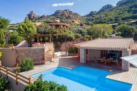 Vakantiehuis Sardinie Costa Paradiso