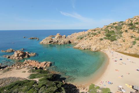 Costa Paradiso Sardinie