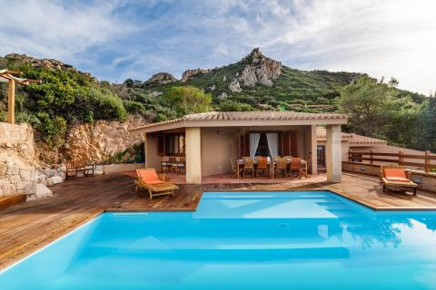 Vakantiehuis Costa Paradiso Sardinie