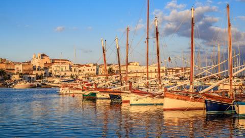 Haven van Sant'Antioco - Sardinie