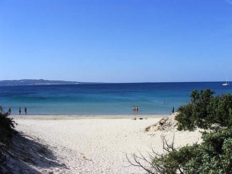 Strand Le Saline Calasetta - Sant Antioca.