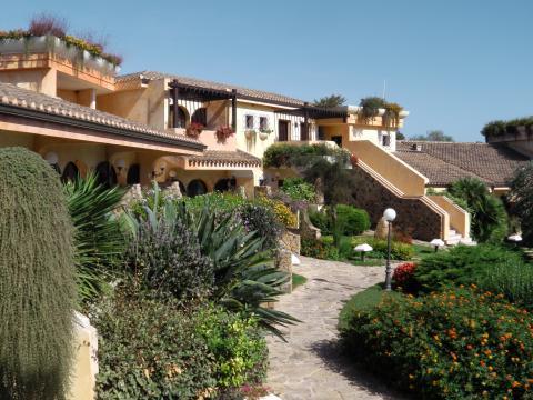 Hotel resort Pula Sardinie