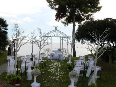 Bruiloften ook mogelijk bij  deze top villa.