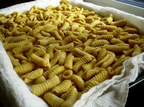 Sardijnse Pasta, zelf gemaakt!